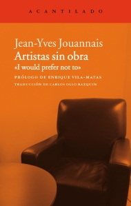 Artistassinobra-Jean-Yves-Jouannais_cubierta