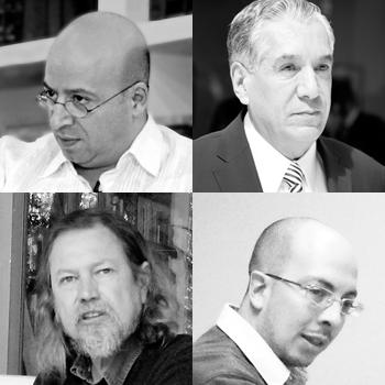 Renato Sales, René Avilés, Dante Medina, Gorge Volpi