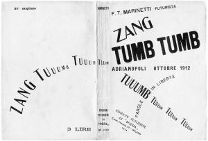 Layla Martínez: Marinetti Zang tumb tumb 1912