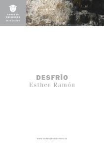 Desfrío, de Esther Ramón (Varasek Ediciones, 2015)
