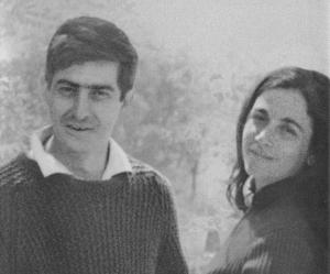 Juan Benet con Carmen Martín Gaite
