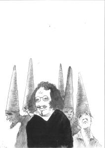 María Hernández. ¿Fue Quevedo heterodoxo? (Ilustración de Lluís Alabern)