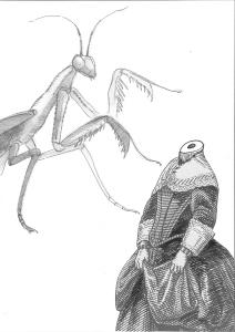 Andreu Navarr a: Pío Baroja y El cura de Monleón (Ilustración de Lluís Alabern)