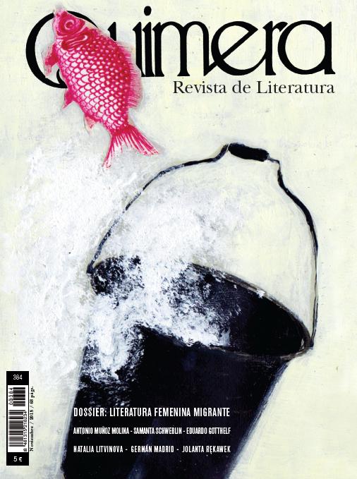 Quimera. Revista de literatura. Núm. 384 (noviembre 2015)